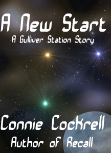 Cover of the first book in the Gulliver Station series.