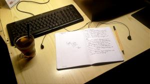Writing in the Evening by ksiaz via www.deviantart.com