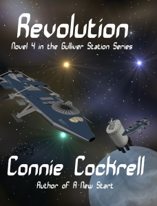 Revolution: last book in the Gulliver Station Cover Reveal by Connie Cockrell