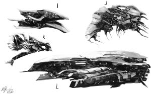 Spaceship Concepts 3 by peterprime-d53ysxe