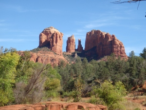 Cathedral Rock, Sedona, AZ by Connie Cockrell