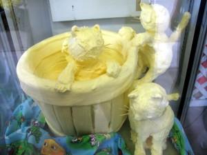 Fonda Fair Butter Sculpture 2009 by Randy Cockrell