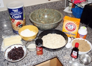 Mise-en-place for cookies by Randy Cockrell