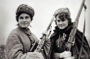 Female Soviet Snipers, himymRobinStinton, Deviantart.com
