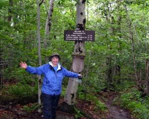 Me,Long Distance BackPacking on the AT/Long Trail, Vermont